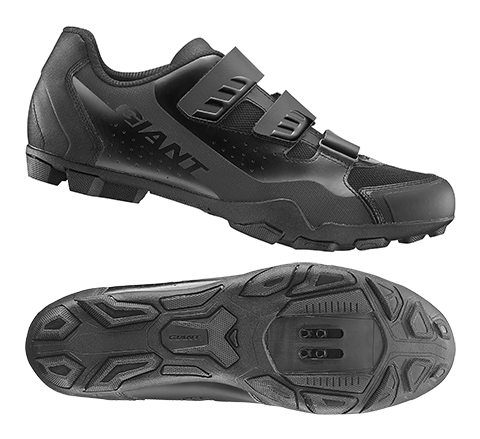 Giant G870001052 GNT Flux V2 Off-Road Shoe Nylon Sole 41 Black
