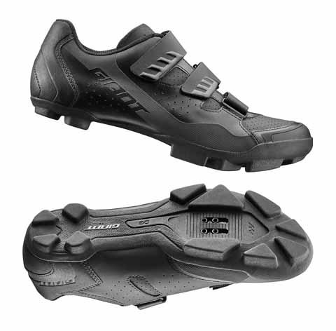 Giant G870001572 GNT Flux Off-Road Shoe 45 Black