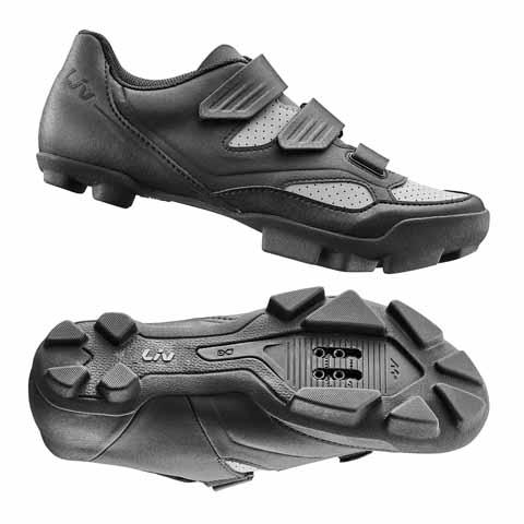 Liv G870001635 LIV Fera 2 Off-Road Shoe Nylon Sole 38 Black/Grey