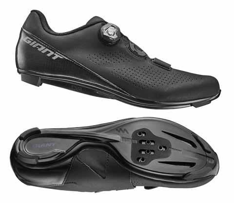 Giant G870001675 GNT Surge Comp Road Shoe Black 45
