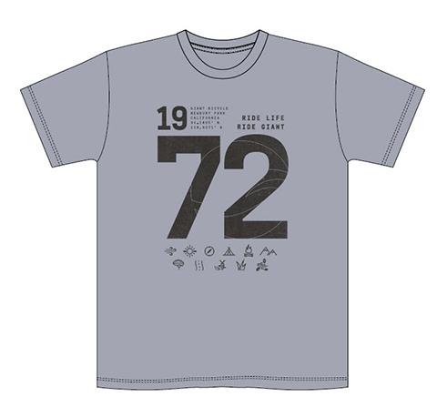 Giant G99273 GNT Since '72 Tee MD Dark Grey