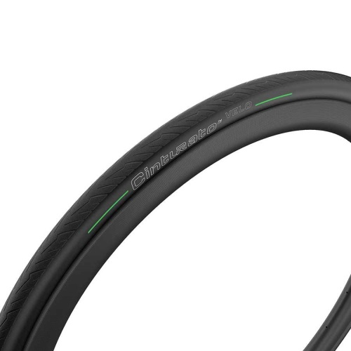 011721-01-700 Pirelli, Cinturato Velo, Tire, 700x26C, Folding, Tubeless Ready, Smartnet Silica, 60TPI, Black
