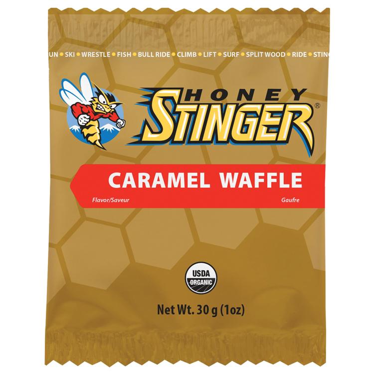 Honey Stinger FOOD22462 Stinger Waffle - Caramel