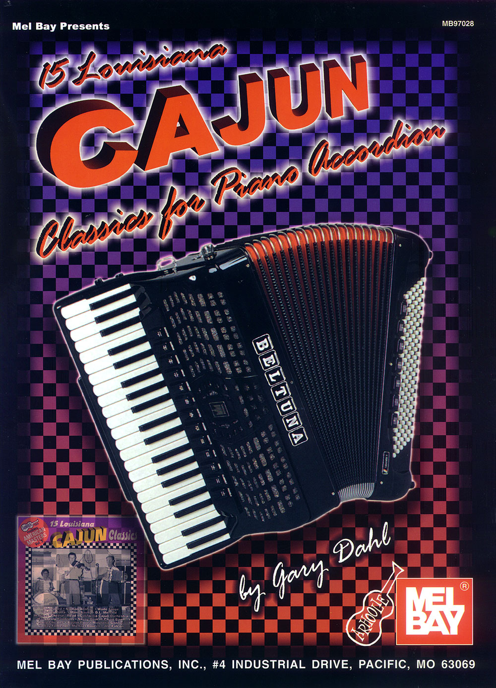 15 Louisiana Cajun Classics for Accordion