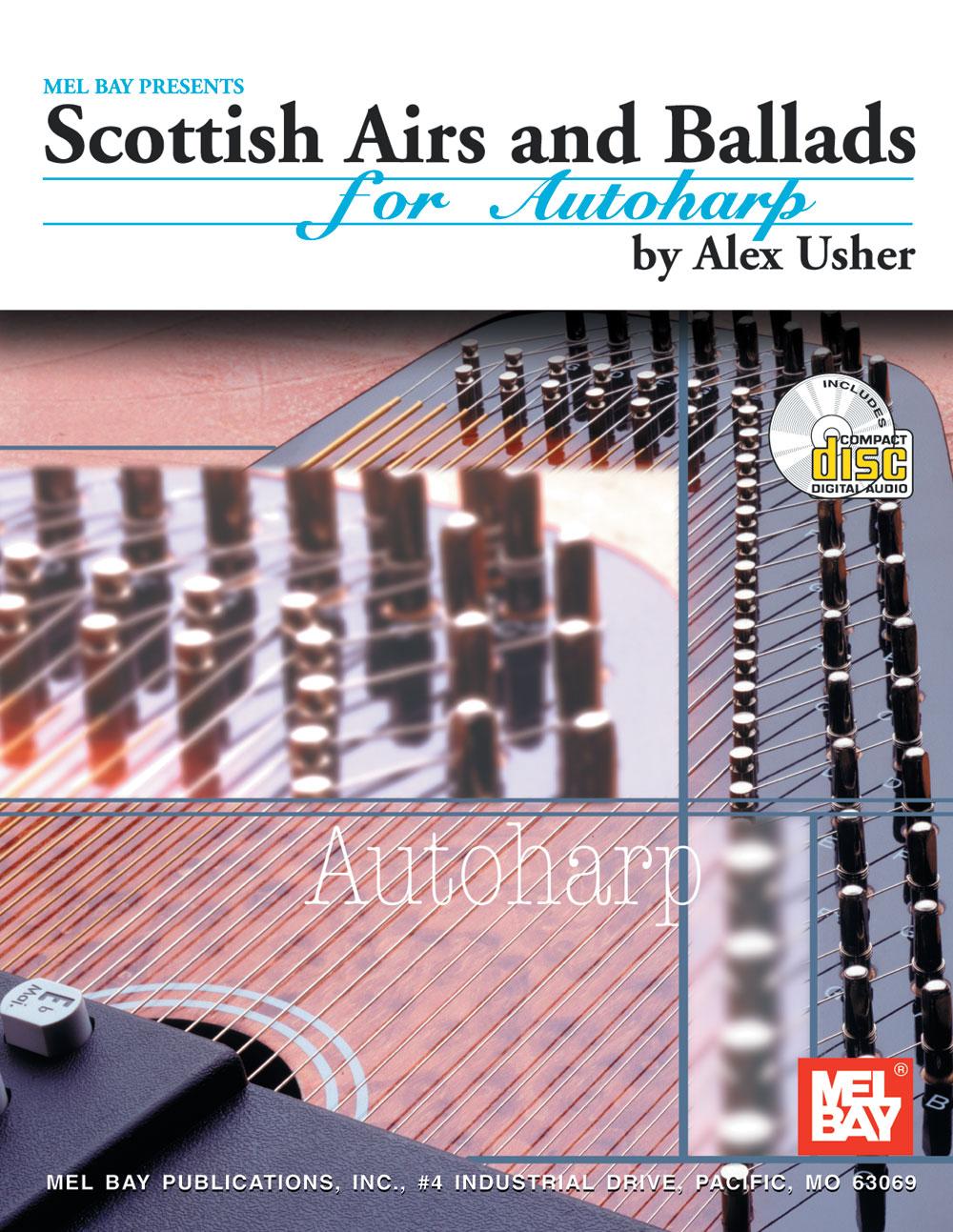 Scottish Airs and Ballads (Bk/CD) - Autoharp