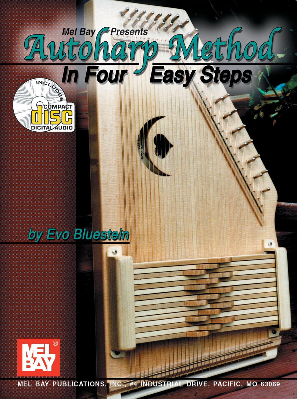 Autoharp Method in Four Easy Steps (Bk/CD)