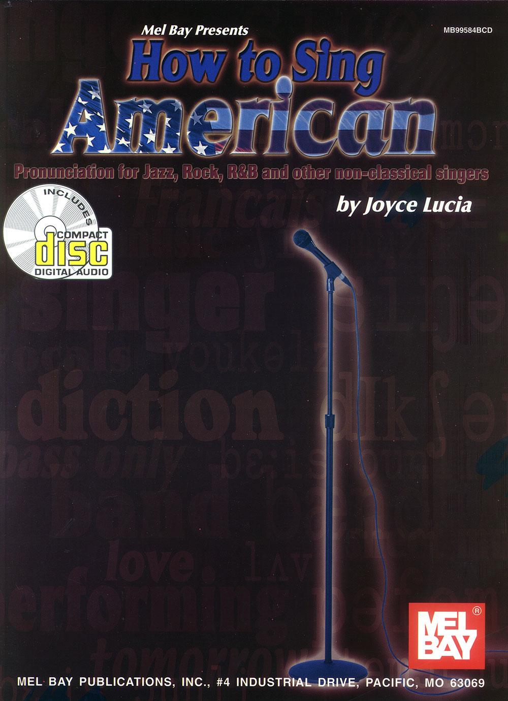 How To Sing American (Bk/CD)