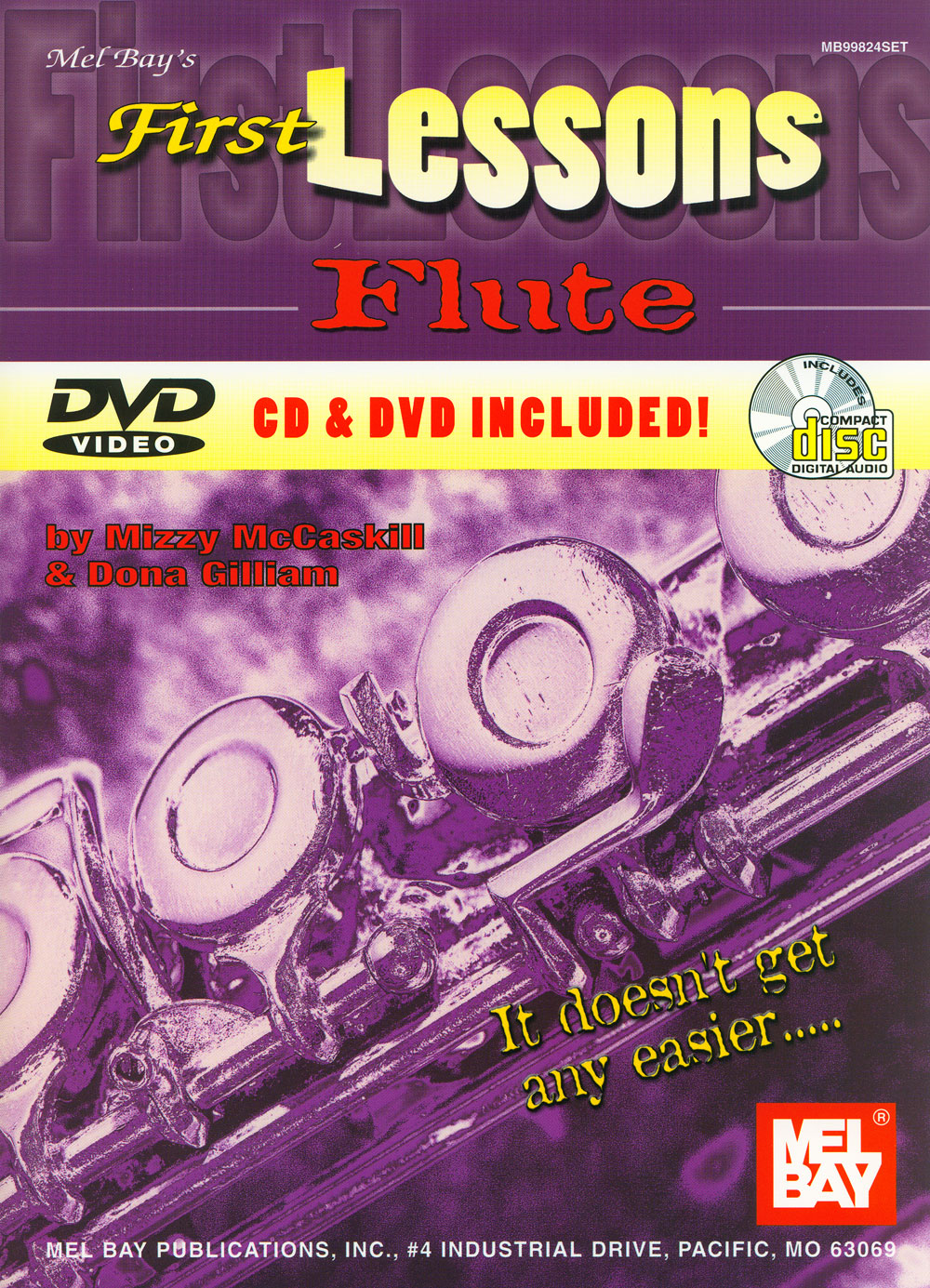 First Lessons (Book/CD/DVD) - Flute