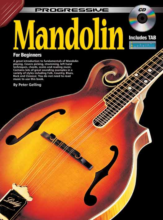 Progressive Mandolin BK/CD