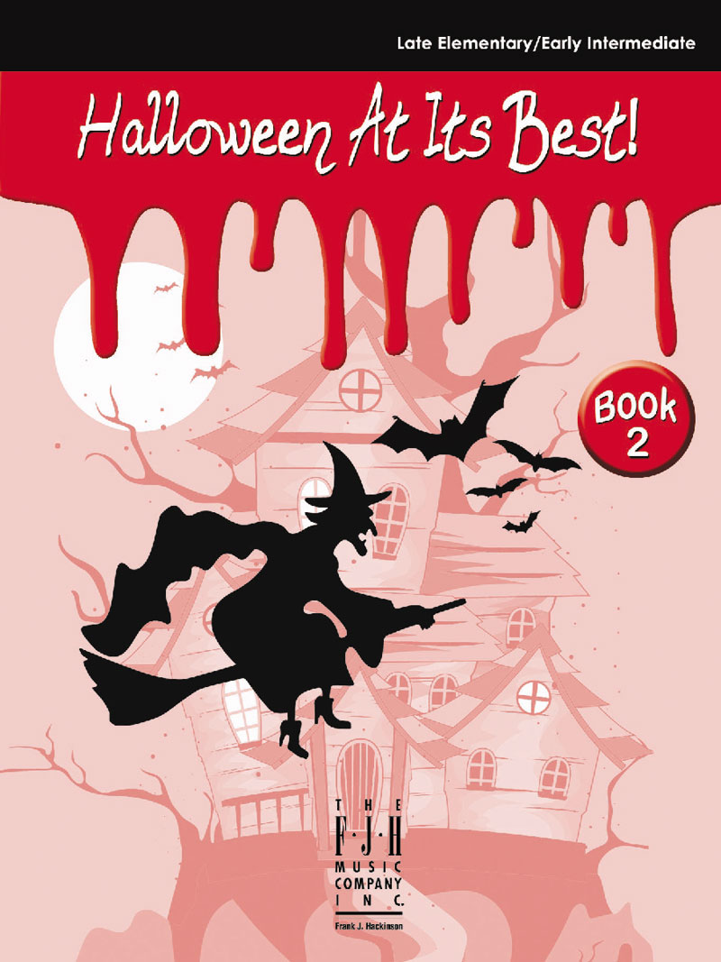 Halloween At Its Best!, Book 2 - Piano