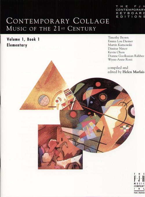 Contemporary Collage, Vol. 1, Book 1 - Piano