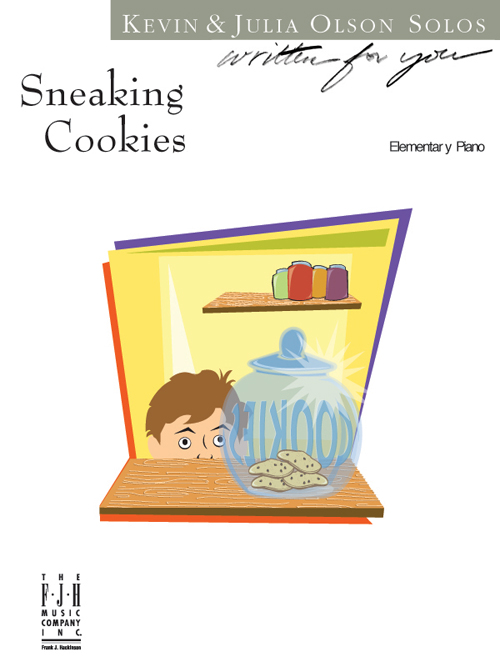 Sneaking Cookies - Piano
