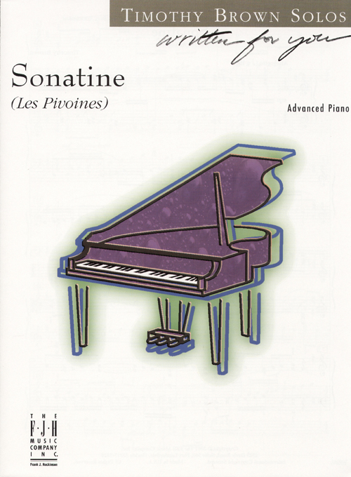 Sonatine (Les Pivoines) - Piano