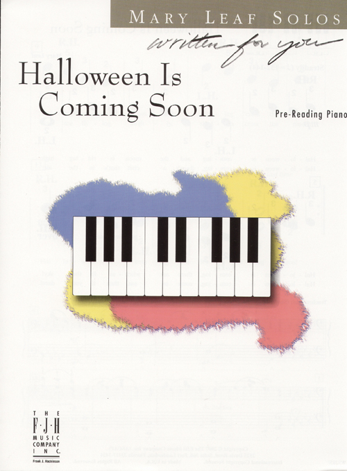 Halloween Is Coming Soon - Pre-Reading Piano