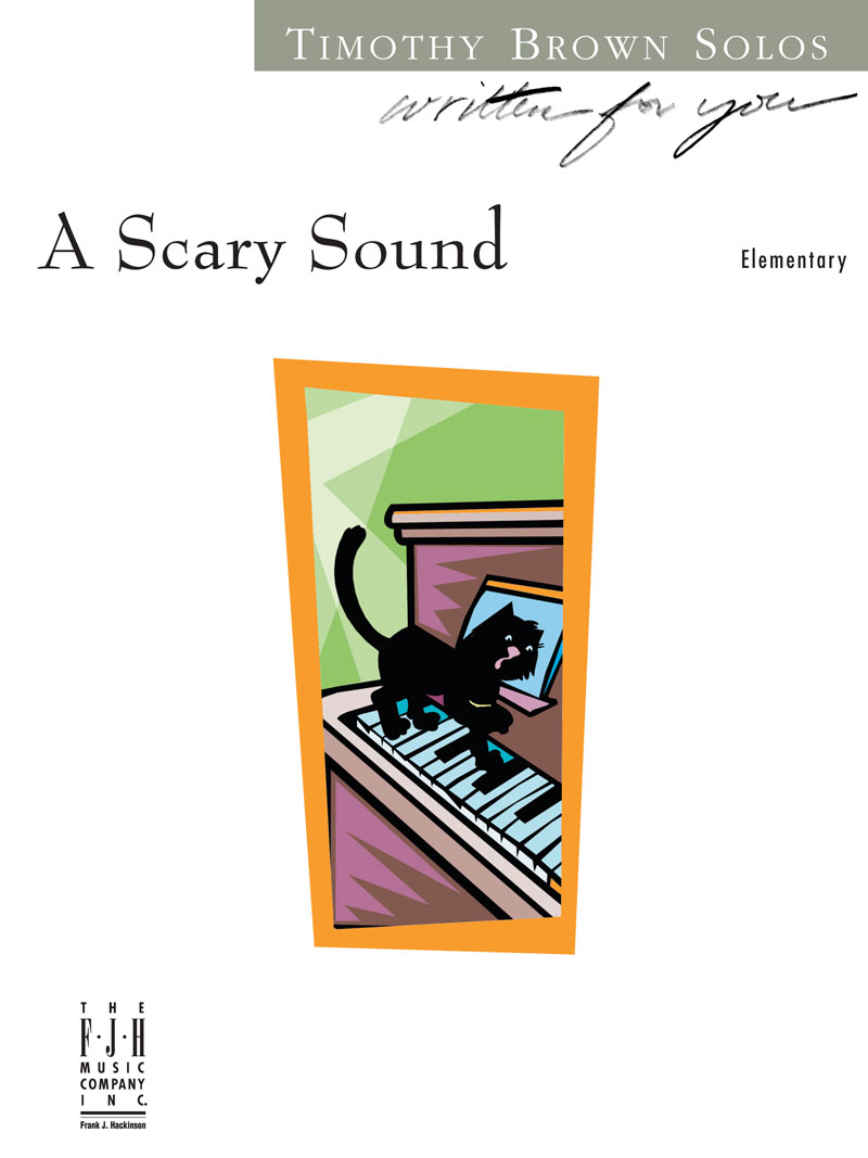 Scary Sound, A - Elementary Piano