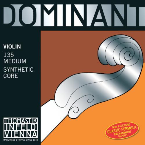 DOMINANT DOM129MS Violin E String 3/4 Loop End