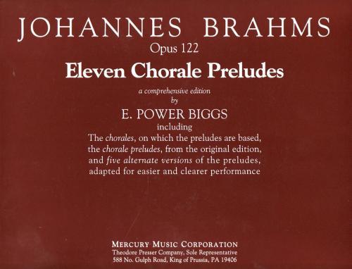 11 Chorale Preludes - Organ
