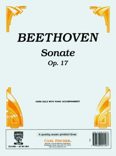 Sonate  Op 17