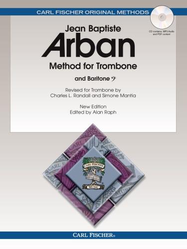 Arban Method for Trombone and Baritone B.C. (spiral bound)