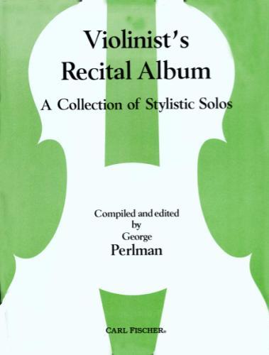 Violinist's Recital Album