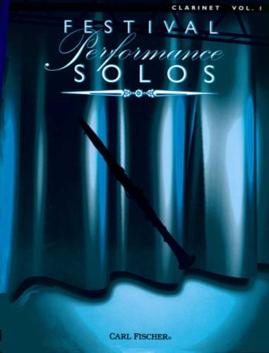 Festival Performance Solos  Clarinet