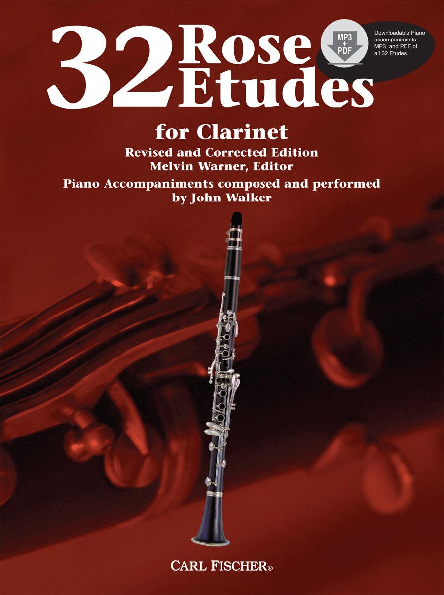 Rose 32 Etudes for Clarinet