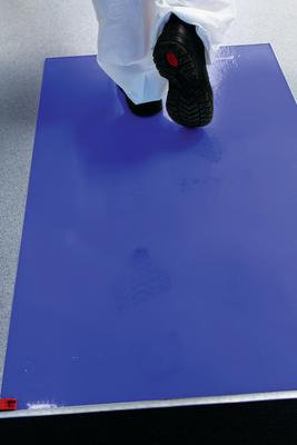 3M Peltor MAT PEL 3M Clean-Walk Unframed Mat With 60 Blue Sheets 25x45 In