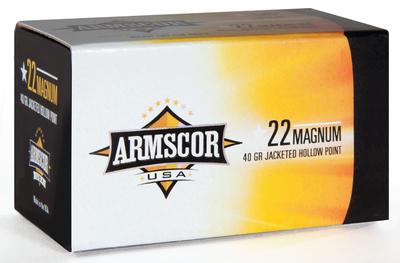 Armscor 22MAG API Rimfire .22 Magnum 40gr JHP