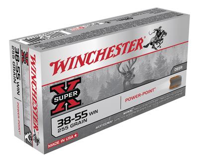 ACU-X3855 Super-X .38-55 Winchester 255 Grain Power Point