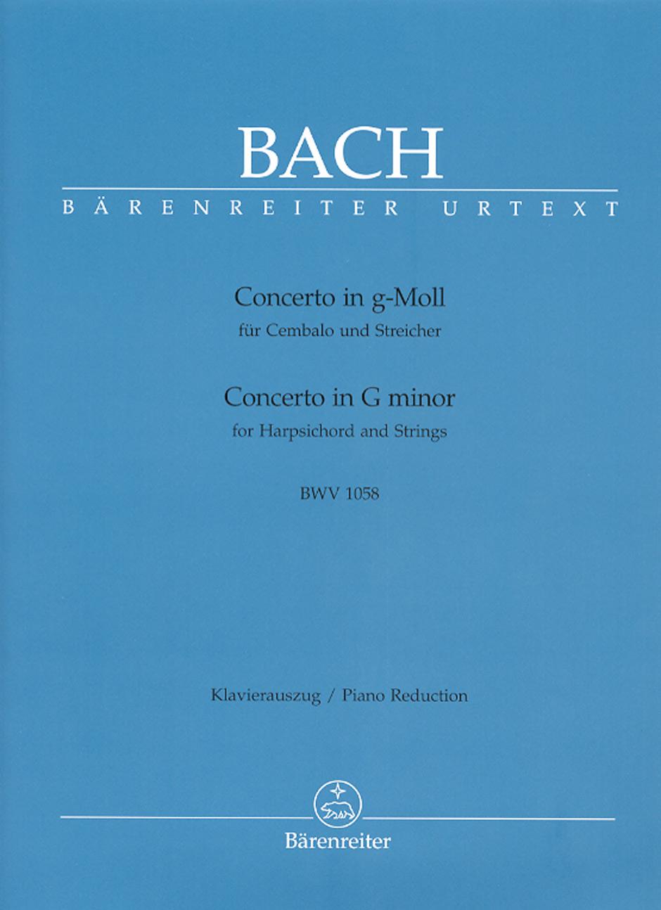Concerto in G minor, BWV 1058 - Piano