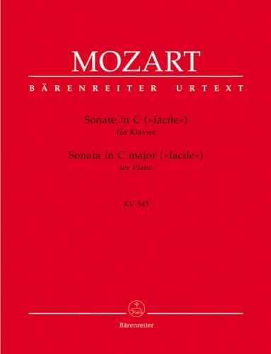 "Sonata in C Major, K 545 ""Facile"" - Piano"