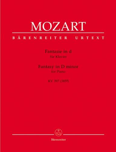 Fantasy in D minor, K 397 (385g) - Piano