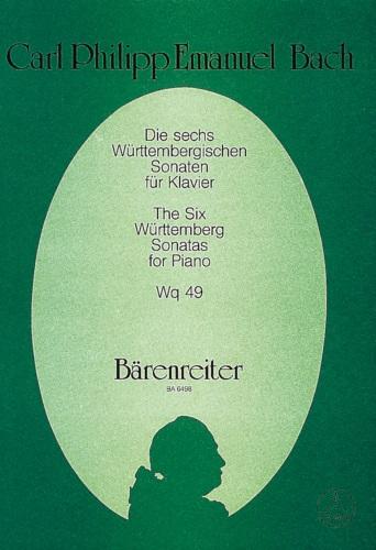 6 Wuttenberg Sonatas, Wq. 49 - Piano