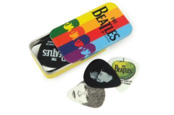 1CAB4-15BT2 Planet Waves Beatles Signature Guitar Pick Tins, Stripes