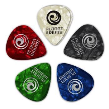D'Addario 1CAP610 Guitar Picks 10-Pack Heavy Assorted Pearl 1CAP6-10