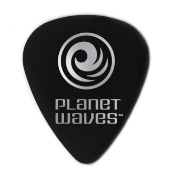 1CBK4-25 Planet Waves Black Celluloid Guitar Picks, 25 pack, Medium