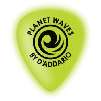 1CCG4-10 Planet Waves Cellu-Glow Guitar Picks, Medium, 10 pack