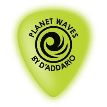 1CCG4-25 Planet Waves Cellu-Glow Guitar Picks, Medium, 25 pack
