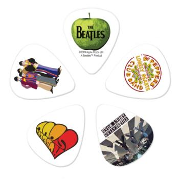 1CWH4-10B3 Planet Waves Beatles Guitar Picks, Albums, 10 pack, Medium