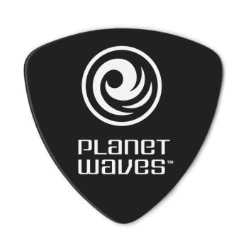 2CBK4-25 Planet Waves Black Celluloid Guitar Picks, 25 pack, Medium, Wide Shape