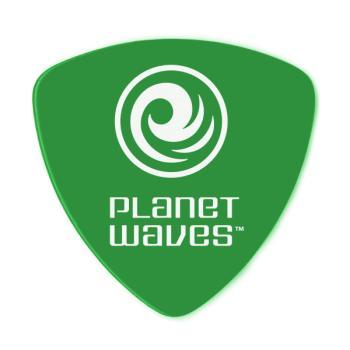 2DGN4-10 Planet Waves Duralin Guitar Picks, Medium, 10 pack, Wide Shape