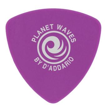 2DPL6-10 Planet Waves Duralin Guitar Picks, Heavy, 10 pack, Wide Shape