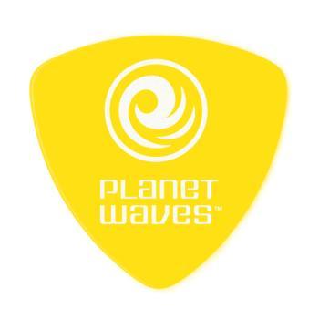 2DYL3-100 Planet Waves Duralin Guitar Picks, Light/Medium, 100 pack, Wide Shape