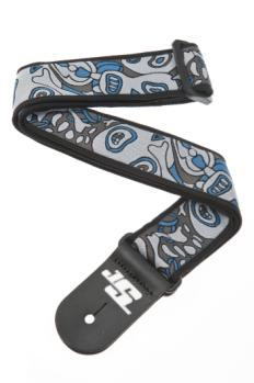 50JS03 Planet Waves Joe Satriani Guitar Strap, Souls of Distortion