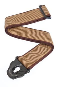 50PLB06 Planet Waves Planet Lock Guitar Strap, Tweed