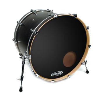 "Evans Drumheads BD20RB Evans 20"" EQ3 Resonant Black"