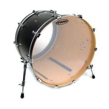 EVANS BD22G1 G1 Clear Bass Drum Head, 22 Inch