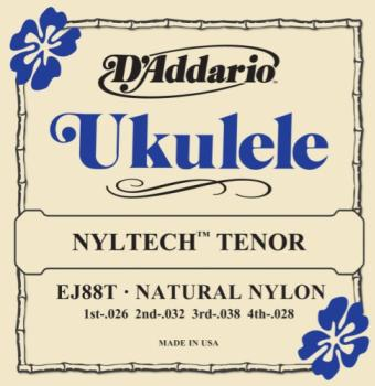 D'addario Nyltech Ukulele Strings Tenor