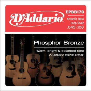 D'addario D'Addario Bronze Acoustic Bass Strings EPBB170