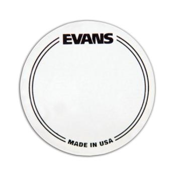 Evans Drumheads EQPC1 Evans Clear Nylon Single Bass Drum Patch